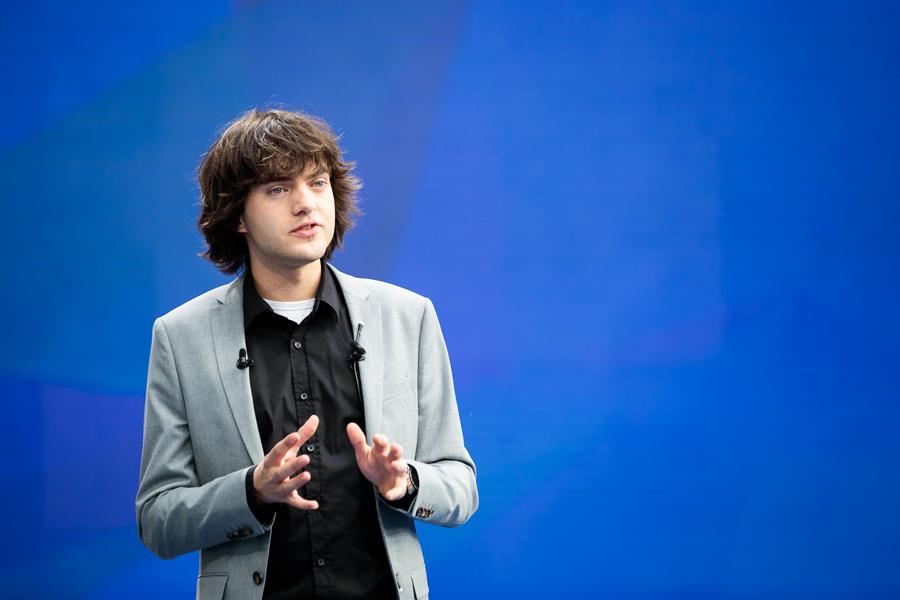 Boyan Slat, grundare och uppfinnare bakom The Ocean Cleanup.